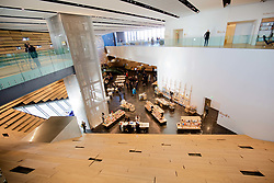 Reception area of the V&A Dundee which was revealed at a media launch. pic copyright Terry Murden @edinburghelitemedia