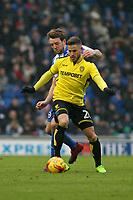 Football - 2016 / 2017 Sky Bet Championship - Brighton & Hove Albion vs. Burton Albion<br /> <br /> Michael Kightly of Burton Albion and Brighton's Dale Stephens in action at the Amex Stadium Brighton<br /> <br /> COLORSPORT/SHAUN BOGGUST
