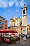 Place Rossetti in old town Nice on the French Riviera