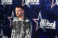 Sam Smith attends The Global Awards, a brand new awards show hosted by Global, the Media & Entertainment group at Eventim Apollo Hammersmith, London UK, 01 March 2018, Photo by Richard Goldschmidt