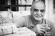 A Palestinian man in Jerusalem's Old city on October 20, 2010