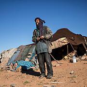 Mohammed est un nomade berbère qui vit dans les environs d'Er-foud.