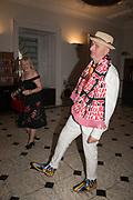 JEAN WAINWRIGHT; BOB AND ROBERTA SMITH, Royal Academy Summer Exhibition party. Burlington House. Piccadilly. London. 6 June 2018