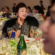 A Japanese mamasan (manager of geishas, or female courtesans) attends a champagne gala in Osaka hosted by Champagne Perrier-Jouët.Founded in 1811 in Epernay, Maison Perrier-Jouët is one of France's most historic champagne houses, but also one of its most distinctive, renowned for its floral and intricate champagnes which reveal the true essence of the Chardonnay grape. Started in 1811, its cellars holds the world's two oldest known bottles of champagne, the 1825 vintage.