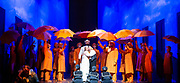The Magic Flute <br /> Music by Mozart <br /> Welsh National Opera, Wales Millennium Centre, Cardiff, Wales, Great Britain <br /> 13th February 2019 <br /> Directed by Dominic Cooke <br /> <br /> Ben Johnson as Tamino<br /> Anita Watson as Pamina<br /> James Platt as Sarastro<br /> And company <br /> <br /> <br /> <br /> Photograph by Elliott Franks