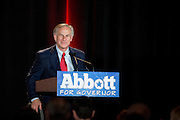 Texas Attorney General and current gubernatorial candidate Greg Abbott speaks during the 2014 RedState Gathering at the Worthington Renaissance Hotel in Fort Worth, Texas on August 9, 2014. (Cooper Neill for The Texas Tribune)