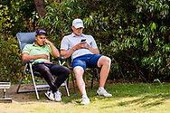 21-07-2018 Pictures of the final day of the Zwitserleven Dutch Junior Open at the Toxandria Golf Club in The Netherlands.21-07-2018 Pictures of the final day of the Zwitserleven Dutch Junior Open at the Toxandria Golf Club in The Netherlands.  TOOROP, Mike (NL) and GEURTS, Bob (NL) waiting