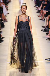 September 29, 2016 - Paris, FRANCE - Christian Dior.MODEL ON CATWALK, WOMAN WOMEN, PARIS FASHION WEEK 2017 READY TO WEAR FOR SPRING SUMMER, DEFILE, FASHION SHOW RUNWAY COLLECTION, PRET A PORTER, MODELWEAR, MODESCHAU LAUFSTEG FRUEHJAHR SOMMER .PARSS17 (Credit Image: © PPS via ZUMA Wire)