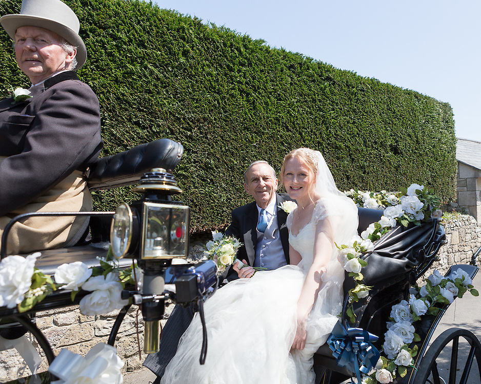 The marriage of Jonathan and Deborah Simper, Holy Trinity Church,  Bembridge, Isle of Wight, 17th May 2014.