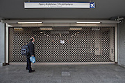Metro on strike.