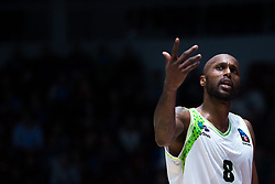 November 8, 2017 - Saint Petersburg, Russia - Tony Crocker of Tofas Bursa reacts during the EuroCup Round 5 regular season basketball match between Zenit St. Petersburg and Tofas Bursa at the Yubileyny Sports Palace in St. Petersburg, Russia, November 08, 2017. (Credit Image: © Igor Russak/NurPhoto via ZUMA Press)
