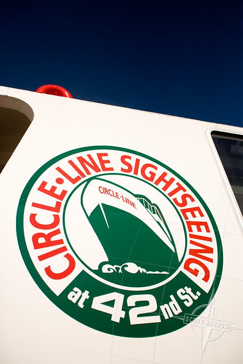 The Circle Line ship Manhattan joins the fleet.