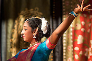 """Nov. 22, 2009 -- PHOENIX, AZ: Dancers perform the """"Mangalam,"""" a classical Indian dance during the annual Discover India Festival in Phoenix, AZ. This is the 8th year the Indian Association of Phoenix has sponsored the festival, which started as a celebration of Diwali, the Indian Festival of Lights, and has since grown to be a celebration of India's cultures, traditions and diversity.    Photo by Jack Kurtz"""