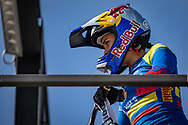 2021 UCI BMXSX World Cup 1&2<br /> Verona (Italy) - Friday Practice<br /> ^we#100 PAJON, Mariana (COL, WE) GW, Nologo, 100%, Shimano, Red Bull, AnswerBMX