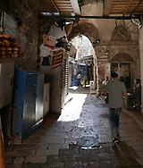 The Streets of the Old City of  Jesusalem<br /> Photo by Dennis Brack