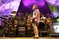 Bob Weir of The Dead performing in concert at the Tweeter Center, Mansfield MA 22 June 2003
