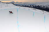 Winter Games - Training session for World Cup Half Pipe 26 Aug 2011