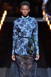 February 21, 2019 - Milan, Italy - Image licensed to i-Images Picture Agency. 21/02/2019. Milan, Italy. Prada show at Milan Fashion Week for Autumn/winter 2019. (Credit Image: © i-Images via ZUMA Press)