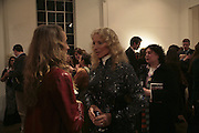 Emma Sergeant and Princess Michael of Kent. Misadventure In the Middle East. Travels As a Tramp, Artist and Spy by Henry Hemming. Book launch and exhibition. Paradise Row. London. E2.  -DO NOT ARCHIVE-© Copyright Photograph by Dafydd Jones. 248 Clapham Rd. London SW9 0PZ. Tel 0207 820 0771. www.dafjones.com.