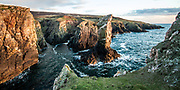 Soldiers Rock, part of the dramatic coastline on The Oa peninsula, Isle of Islay
