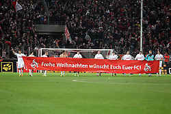 13.12.2011, Rhein Energie Stadion, Koeln, GER, 1.FBL, 1. FC Koeln vs Mainz 05, im BildFC Spieler wünschen den Fans ein frohes Weihnachtsfest // during the 1.FBL, 1. FC Koeln vs Mainz 05 on 2011/12/13, Rhein-Energie Stadion, Köln, Germany. EXPA Pictures © 2011, PhotoCredit: EXPA/ nph/ Mueller..***** ATTENTION - OUT OF GER, CRO *****