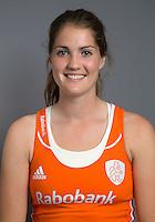 ARNHEM - Marloes Keetels. Nederlands Hockeyteam dames voor Wereldkamioenschappen hockey 2014. FOTO KOEN SUYK