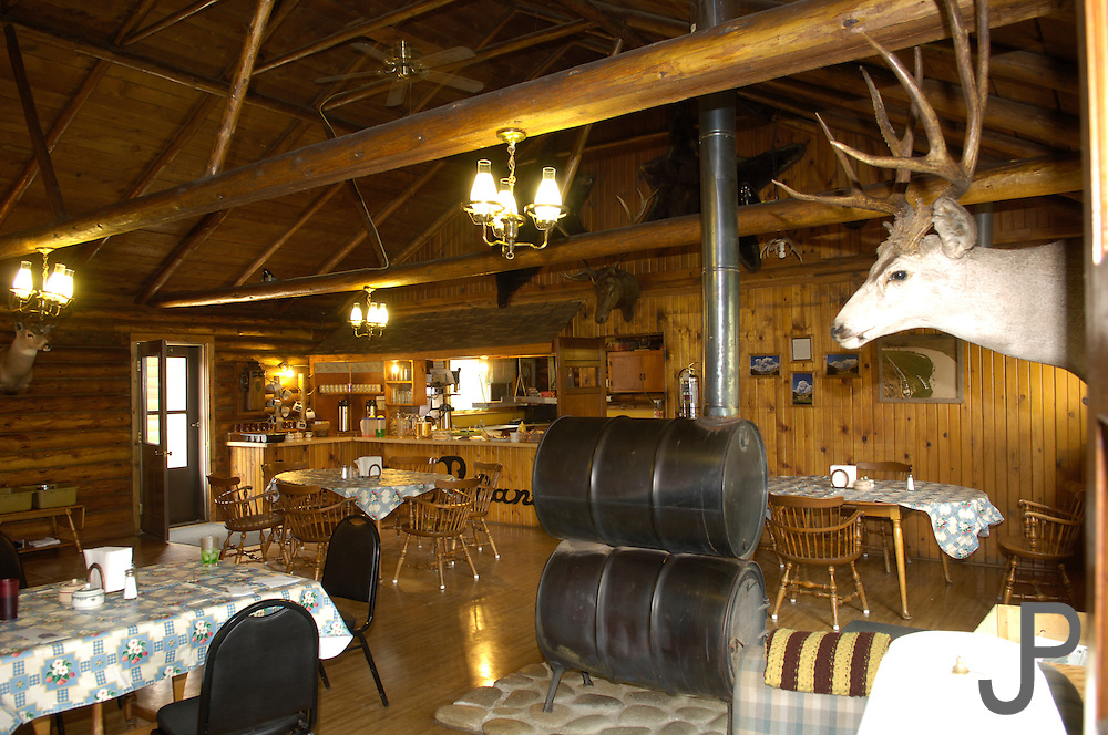 The hunting lodge in Sulphur Creek, ID.