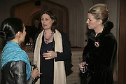 May Busch, Sarah Brown and Susan Boster, Morgan Stanley Great Briton 2006. The Guildhall. Basinghall st. London. 18 January 2006. h by Dafydd Jones. 248 Clapham Rd. London SW9 0PZ. Tel 0207 820 0771. www.dafjones.com.