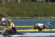 2005 FISA Rowing World Cup Munich,GERMANY. 19.06.2005; GER M1X Marcel Hacker. Photo  Peter Spurrier. .email images@intersport-images.[Mandatory Credit Peter Spurrier/ Intersport Images] Rowing Course, Olympic Regatta Rowing Course, Munich, GERMANY