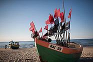Kąty Rybackie. Plaża nad Bałtykiem