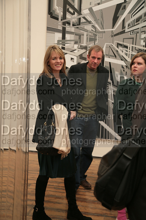 Hugo Rittson-Thomas, Planit- Exhibition of work by Ian Munroe. Haunch of Venison. London. 1 March 2007.  -DO NOT ARCHIVE-© Copyright Photograph by Dafydd Jones. 248 Clapham Rd. London SW9 0PZ. Tel 0207 820 0771. www.dafjones.com.