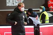 Fussball: 2. Bundesliga, FC St. Pauli - Hamburger SV, Hamburg, 01.03.2021<br /> Trainer Timo Schultz (Pauli)<br /> © Torsten Helmke