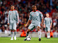 Andre Wisdom of Liverpool. FA Cup 1st Leg Arsenal Youth v Liverpool Youth at Emirates  22/05/2009 Credit Colorsport / Kieran Galvin