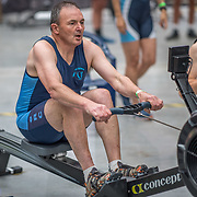 Peter Fraser MALE HEAVYWEIGHT Masters D 500mtr Race #18  01:30pm <br /> <br /> www.rowingcelebration.com Competing on Concept 2 ergometers at the 2018 NZ Indoor Rowing Championships. Avanti Drome, Cambridge,  Saturday 24 November 2018 © Copyright photo Steve McArthur / @RowingCelebration