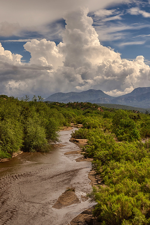 2021 has seen historically massive monsoon rains. This photo is special to me because it is the day after I was stranded at our local state park for a day due to the flooding.