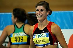 07-02-2010 ATLETIEK: NK INDOOR: APELDOORN<br /> Karin Ruckstuhl Nederlands kampioen 60 m horden<br /> ©2010-WWW.FOTOHOOGENDOORN.NL