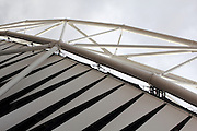 Detail from the Olympic Stadium in London's Olympic Park