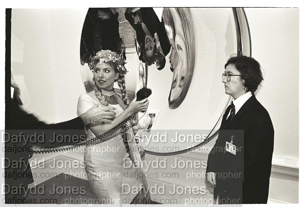 KATRINA BOORMAN, Sensation Opening. Royal Academy of Art. London.16 September 1997.