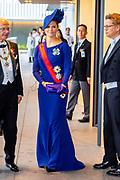De Japanse keizer Naruhito heeft officieel de troon aanvaard en de belofte afgelegd dat hij zijn plicht als symbool van de staat zal vervullen. De 59-jarige Naruhito deed dat in een eeuwenoude ceremonie in de belangrijkste zaal van het keizerlijke paleis in Tokio in aanwezigheid van staatshoofden en gasten uit meer dan 180 landen.<br /> <br /> The Japanese emperor Naruhito has officially accepted the throne and made the promise that he will fulfill his duty as a symbol of the state. The 59-year-old Naruhito did that in an ancient ceremony in the main hall of the Imperial Palace in Tokyo in the presence of heads of state and guests from more than 180 countries.<br /> <br /> Op de foto / On the photo:  Prinses Victoria van Zweden / Victoria of Sweden