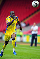 Carling Cup Darlington vs Leeds United. Enoch Showunmi (Leeds) <br /> 10/08/2009. Credit Colorsport / Darren Blackman