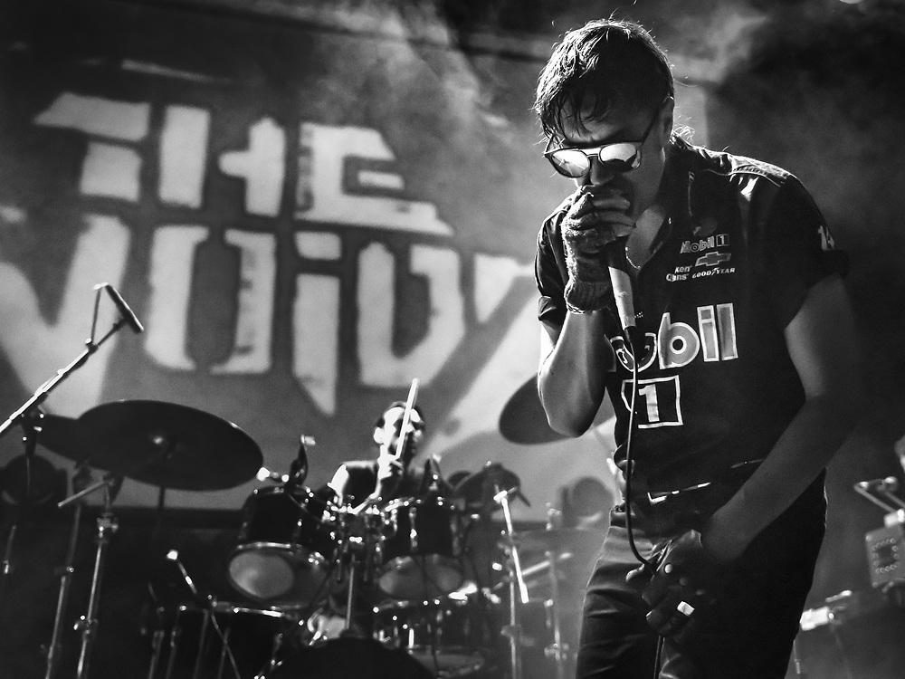 Julian Casablancas of American experimental-rock band The Voidz at Iceland Airwaves