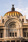 Palacio de Bellas Artes on Alameda Central in Mexico City, Mexico.