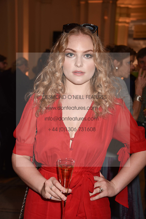 Ciara Charteris at Fashioned From Nature held at The V&A Museum, London, England. 18 April 2018.
