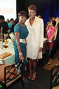 April 7, 2012 New York, NY:  (L-R) Recording Artist Estelle and Media Personality/Style Expert Tai Beauchamp attend the 62nd Annual Women of Distinction Spirit Awards Luncheon & Fashion Show sponsored by The Links, Inc- Greater New York Chapter held at Pier Sixty at Chelsea Piers on April 7, 2012 in New York City...Established in 1946, The Links,  incorporated, is one of the nation's oldest and largest volunteer service of women, linked in friendship, are committed to enriching, sustaining and ensuring the culture and economic survival of African-American and persons of African descent . The Links Incorporated is a not-for-profit organization, which consists of nearly 12, 000 professional women of color in 272 located in 42 states, the District of Columbia and the Bahamas. (Photo by Terrence Jennings)