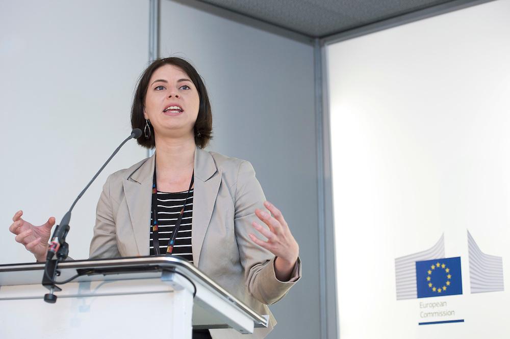 03 June 2015 - Belgium - Brussels - European Development Days - EDD - Jobs - Managing business impacts on sustainable development - Norma Schönherr , Project Manager© European Union
