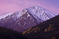 14,267 Ft. Torreys Peak of the Front Range Mountains, Colorado.