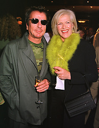 Interior designer NICKY HASLAM and COUNTESS JENNIFER GUERINNI-MARALDI, at a party in London on 5th May 1999.MRR 59