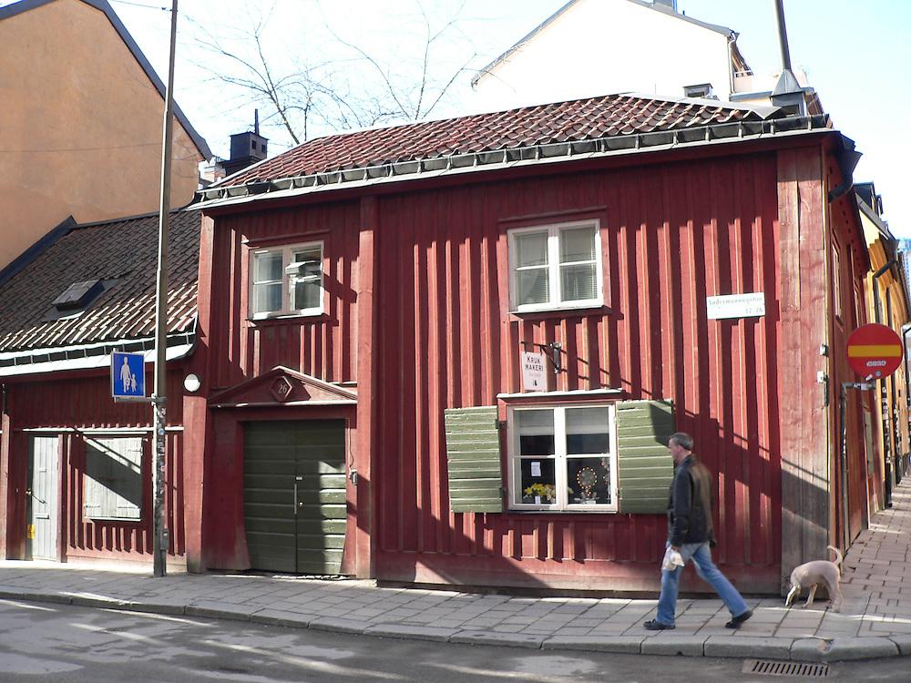 Krukmakeriet i korsningen Södermannagatan Bondegatan i Stockholm, mitt i det s.k. Sofo.