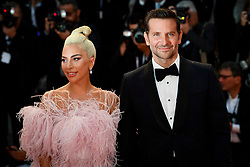 A Star Is Born Red Carpet Arrivals - 75th Venice Film Festival. 31 Aug 2018 Pictured: Bradley Cooper and Lady Gaga. Photo credit: Daniele Cifalà / MEGA TheMegaAgency.com +1 888 505 6342