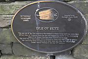 Quarry sign , Green Moor, Stocksbridge, Pennine Hills, near Sheffield Yorkshire England